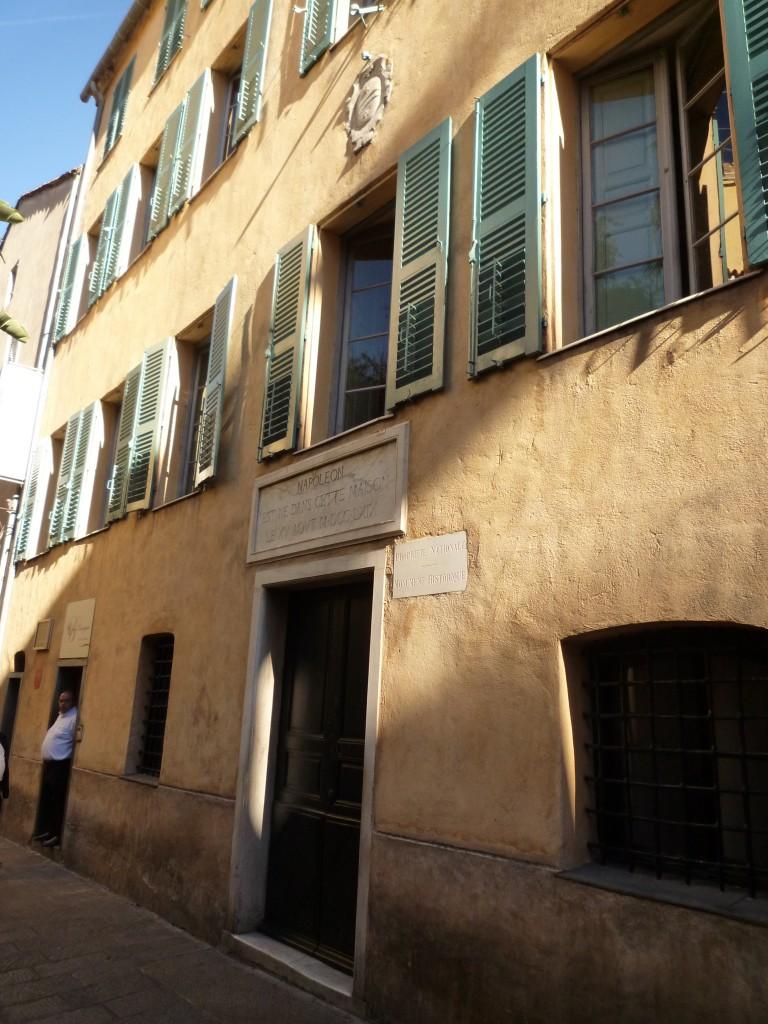 Maison des Bonaparte à Ajaccioo